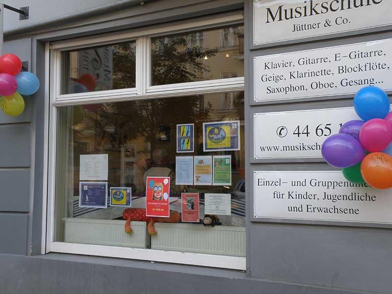 Musikschule Jütter &Co. Schule Pankow Florastraße 60/62, 13187 Berlin
