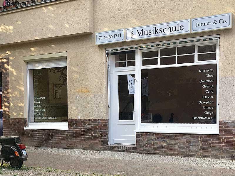 Musikschule Jüttner in Prenzlauer Berg, Kuglerstr. 81 in 10439 Berlin